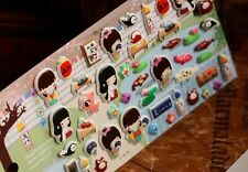 japan kawaii 3d puff pvc stickers self adhesive decoration scrapbooking label