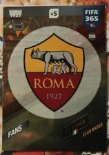 Panini Adrenalyn XL FIFA 365 2018 AS Roma cards Fans Team Mate