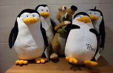 DREAMWORKS PENGUINS OF MADAGASCAR PRIVATE KOWALSKIPPER Or RICO ICE AGE SOFT TOY