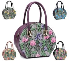 Womens Dolly Boutique Style Tote Small Fashion Shoulder Bag Tote Evening Handbag