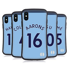 NEWCASTLE UNITED FC 2017/18 AWAY KIT 2 CASE IBRIDA PER APPLE iPHONES TELEFONI