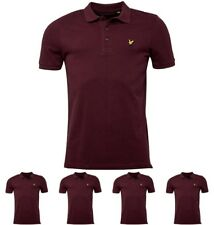 """MODA Lyle And Scott Vintage Mens Polo Claret Marl X-Small Chest 30-32"""""""