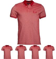 """BRAND Firetrap Mens Minor Polo Blood Red Small Chest 36"""""""