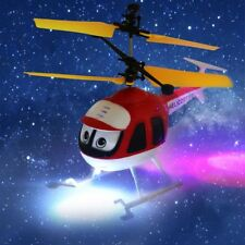 Induction Flying Toys RC Helicopter Cartoon Remote Control Drone Kid Plane Toy#L