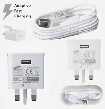 Genuine Samsung Fast USB Main Charger Adapter EP-TA20UWE For Samsung S7 S6 S4 A5
