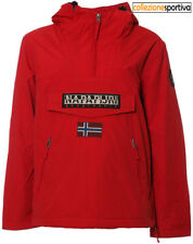 GIUBBOTTO NAPAPIJRI RAINFOREST POCKET WINTER JACKET - N0YGNLR66 col. rosso