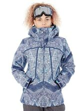 Roxy Peacoat-Avoya Wildlife Womens Snowboarding Jacket