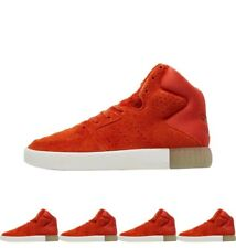 DI MODA adidas Originals Womens Tubular Invader 2.0 Trainers Red Orange UK 3.5