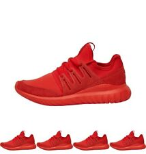 FASHIONS adidas Originals Mens Tubular Radial Trainers Red/Red/Core Black UK 3.
