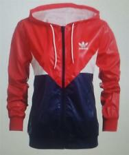 Adidas womens colorado windbreaker retro jacket coat multi new ab2184 uk 8 -16
