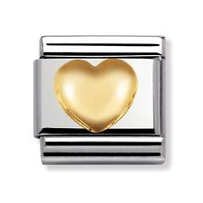 Nomination Italy Nominations Gold Love Raised Heart Classic Charm Tool Valentine