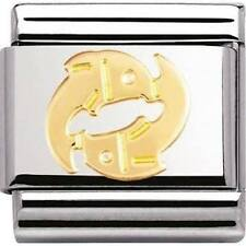 Nomination Italy Nominations Gold Zodiac Pisces Classic Charm Tool
