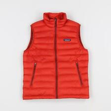 Patagonia Mens Goose Down Insulation Sweater Gilet Vest Ramble Red