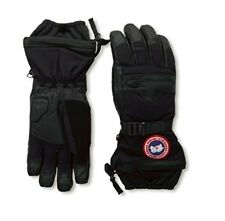 Canada Goose NORTHERN Down Black Grey Ski Snowboard Gloves Mens 5156M 525 Fill