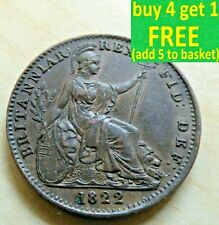 George IV Farthing Coins Choice Each Coin has its own Pictures