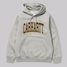 Felpa Carhartt Hooded Division Grey Heather