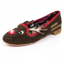 Irregular Choice Red nose Roo light up  flat shoe limited sizes now in stock