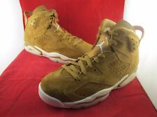 Nike Air Jordan 6 Retro Golden Harvest Wheat 8 9 10 11 SportsLocker 384664-705