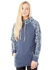 Burton Mood Indigo Lima Funnel Neck Womens Hoody