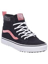 Vans Black-Metallic SK8-Hi MTE Kids Hi Top Shoe