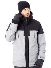 Volcom Heather Grey Alternate Insulated Snowboarding Jacket
