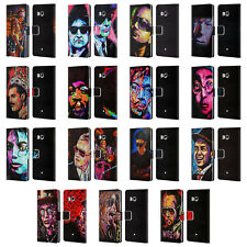 OFFICIAL ROCK DEMARCO MUSICIANS LEATHER BOOK WALLET CASE COVER FOR HTC PHONES 1