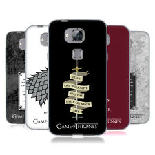 OFFICIAL HBO GAME OF THRONES GRAPHICS SOFT GEL CASE FOR HUAWEI PHONES 2