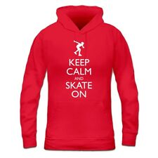 Sudadera con capucha de mujer Keep Calm and Inline Skate on