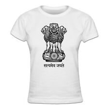 Tee shirt Femme India Coat of Arms