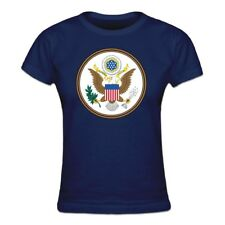 Tee shirt Femme United States of America Coat of Arms