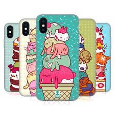 HEAD CASE DESIGNS GARNITURES ANIMALES ÉTUI COQUE EN GEL POUR APPLE iPHONE X