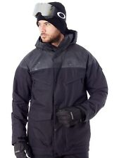 Burton True Black-True Black Wax Breach Snowboarding Jacket