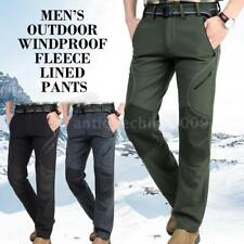 Men Outdoor Hiking Pants Sport Trousers Quick Dry Tactical Softshell Pants X1A6