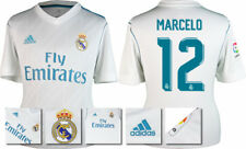17 / 18 - ADIDAS ; REAL MADRID HOME SHIRT SS / MARCELO 12 = ADULTS