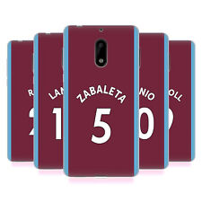 OFFICIAL WEST HAM UNITED FC 2017/18 HOME KIT 1 SOFT GEL CASE FOR NOKIA PHONES 1