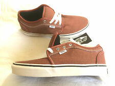 Vans Chukka Low (Rojo/lavado Canvas) Skate Zapatos Shoe OFF THE WALL 1966