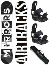 airtracks SNOWBOARD SET TAVOLA MIRRORS Camber + softindung + SB borsa / 152 157