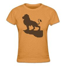 The King Of Lions Silhouette Frauen T-Shirt