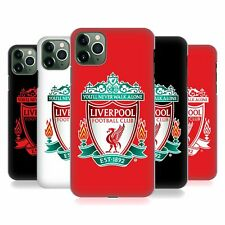 OFFICIAL LIVERPOOL FC LFC CREST 1 HARD BACK CASE FOR APPLE iPHONE PHONES