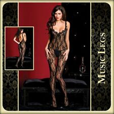 Bodystocking in pizzo Sophia Music Legs Sexy shop intimo donna lingerie erotic x