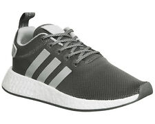 Womens Adidas Nmd R2 Trainers GREY MAROON  Trainers Shoes