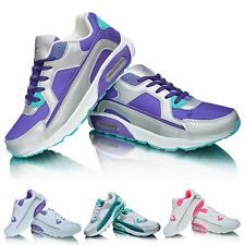 NEW Ladies Running Shock Absorbing Lightweight Gym Sports Fitness Trainers Shoes