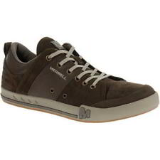 Merrell Rant Dash Mens Brown Suede Leather Shoes Trainers Size 6.5-13