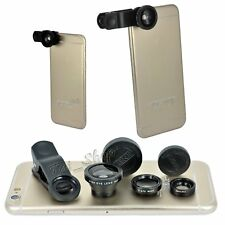 Fish eye Macro Wide Angle Lens Universal Clip for iPhone 4 4S 5 5S 6 6S 7 8 Plus