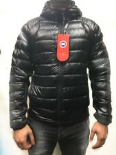 Canada Goose Men's Hybridge Lite Quilted Shell Jacket Full Zip Hooded - BLACK