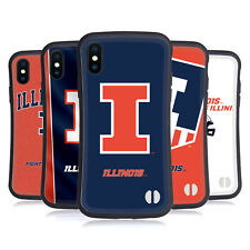 OFFICIAL UNIVERSITY OF ILLINOIS U OF I HYBRID CASE FOR APPLE iPHONES PHONES