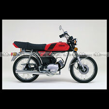 #phm.36776 Photo YAMAHA FS-1 DX FIZZY (FS1 50 DX) 1980 CLASSIC MOPED Moto