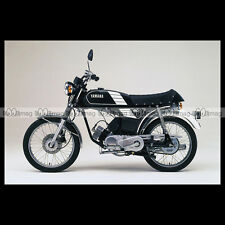 #phm.36748 Photo YAMAHA FS-1 DX FIZZY (FS1 50 DX) 1980 CLASSIC MOPED Moto