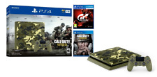 PlayStation 4 1TB Call of Duty: WWII Camo console GT Sport PS4- Limited Edition