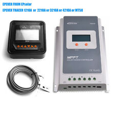 EPEVER 10A 20A 30A 40A MPPT SOLAR PANEL CHARGE CONTROLLER REGULATOR MT50 WIFI BE